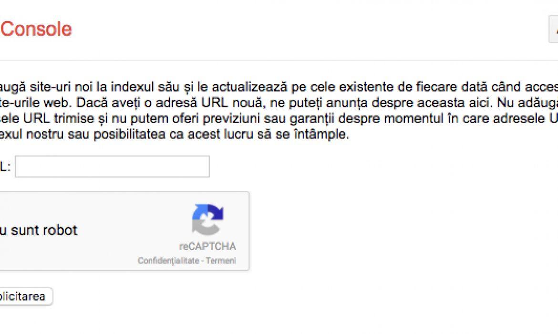 1. Mit SEO: Trebuie sa inscriu site-ul in Google